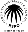 RSPO certification label