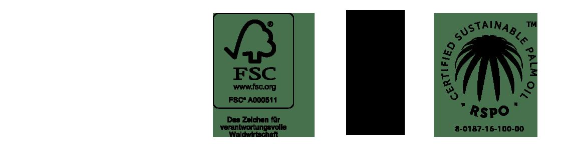 FSC, PEFC, RSPO